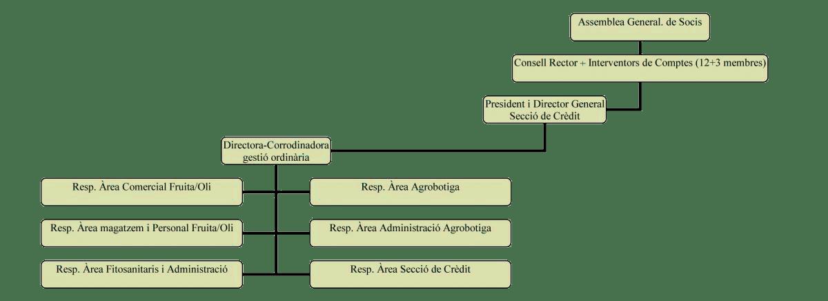 Cooperativa-sant-isidre-Borges-Blanques-organigrama